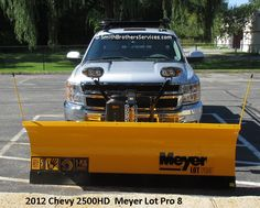 2012 Chevy 2500HD Meyer Lot Pro 8