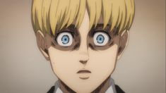 AoT/S4 Attack On Titan Season, Anime Screenshots, Armin, Iphone Wallpaper, Pretty, Vintage, Color, Season 4, Twitter