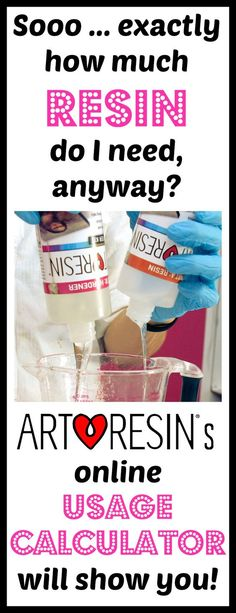 Can I figure out how much resin I'll need for my artwork before I buy?  YES!!  Head over to ArtResin.com and check out our awesome Usage Calculator!  Simply punch in the length and width of your piece to find out how much #ArtResin you'll need for a single coat!  Doesn't get easier than that!  <3 #knowbeforeyoubuy #resintip #resinusage #resincalculator #resinusagecalculator