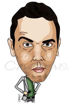 Joel Ricardo Santos   Ricardo Campus - Caricaturas Cartoons e Ilustração