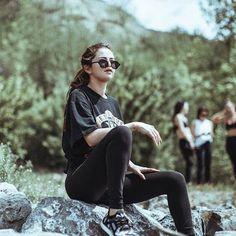 010c452810a86 Selena Gomez wearing Illesteva Milan Round Sunglasses in Matte Black