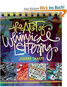The Art of Whimsical Lettering - Joanne Sharpe
