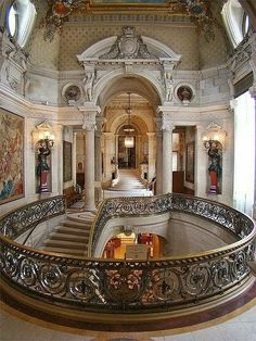 Grand Staircase, Chantilly, France