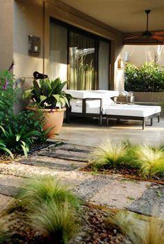 GALERÍAS: Jardines de estilo rústico por Parrado Arquitectura