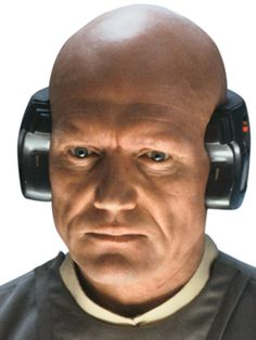 Lobot was the chief administrative aide to Baron Administrator Lando Calrissian on Cloud City over the planet Bespin. His brain was connected to the city's central computer which allowed him to communicate directly with the city's computer network. In this capacity, he served as the city's first and only computer-liaison officer. #lobot #star #wars