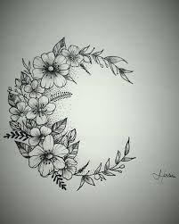 Resultado de imagem para lua tatuagem