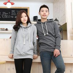 Brushed Fleece Couple Pullover from #YesStyle