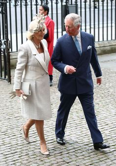 Prine Charles and Camilla attends the Commonwealth day observance service at Westminster Abbey on March 10, 2014 in London, England.