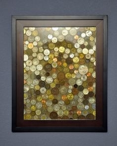 what to do with all those foreign coins you've saved. love this!