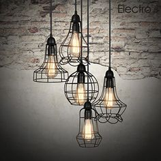 Electro_bp;rustic Barn Metal Chandelier Max 200w with 5 Light Black Finish Bulb Included Electro_BP http://smile.amazon.com/dp/B00RT6TB2Q/ref=cm_sw_r_pi_dp_.LqQwb0CG1XKK