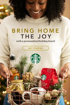 Coffee Gift Basket Ideas Nothing warms up the holidays like Holiday Blend. Give the gift of perfect mornings with these thoughtful ideas for your friends who love Starbucks coffee. Christmas Gift Baskets, Homemade Christmas Gifts, Homemade Gifts, Holiday Gifts, Coffee Gift Baskets, Coffee Gifts, Christmas Holidays, Christmas Crafts, Christmas Ideas