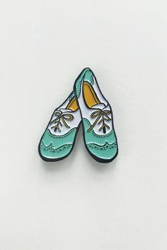 Saddle Shoes Lapel Pin