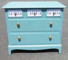IPPLEPEN INTERIORS : Vintage Stag Chest Of Drawers. – Ipplepen Interiors