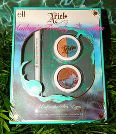 """Amber's Trendy Thoughts!: Disney's """"Ariel"""" """"Under The Sea Eye's"""" trio by e.l.f."""