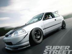1998 Honda Civic DX via Super Street