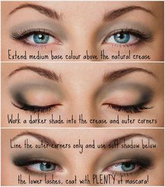 Pretty makeup for hooded eyes