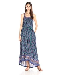 63188cf071 Lucky Brand Women s Circle Embroidered Dress