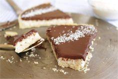 """Recette de la tarte noix de coco façon """"bounty""""   La ligne gourmande"""