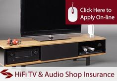 HiFi TV and Audio Hire Shop Insurance