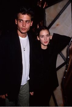 Time for a little Throwback Thursday fun with these infamous celebrity couples from the 90s, like Johnny Depp and Winona Ryder. Which one's your favorite? http://collegecandy.com/2013/05/30/celebrity-couples-90s/#photo=4