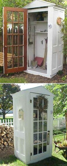 Shed DIY - Awesome 57 Inspiring Garden Shed Ideas You Can Afford roomaniac.com/... Now You Can Build ANY Shed In A Weekend Even If You've Zero Woodworking Experience!