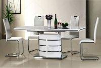 Komplet - stůl Fano + 4 Židle H-790