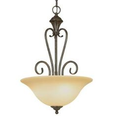 Check out the Millennium Lighting 6063-BG Devonshire 3 Light Pendant in Burnished Gold priced at $107.90 at Homeclick.com.