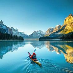 Malign Lake, Canada