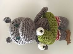 Hipopotamo Rilson em amigurumi - YouTube