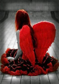 jeff color splash - Page 237 Color Splash, Color Pop, Ange Demon, Donut Party, Angel Pictures, Angels And Demons, Dark Angels, Fallen Angels, Guardian Angels