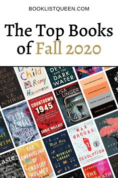 Get your fall reading list ready because I have the best books of Fall 2020 with all the top choices of great books to read.