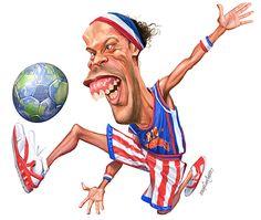 Perto de pendurar as chuteiras, R10 completa um ano como globetrotter #globoesporte