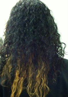 Blondes have more fun. New color natural curls. Mixed girls rock!