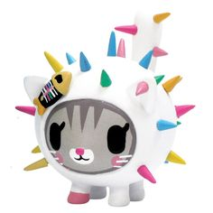 Carina Cactus Pets by Tokidoki (Simone Legno) from. Vinyl Toys, Vinyl Art, Pop Vinyl, Cactus Cat, Desu Desu, Pillow Fight, Cute Toys, Designer Toys, Vinyl Figures