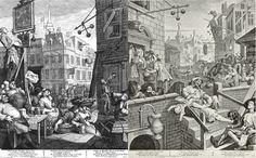 Gin transformed from royal elixir to sawdust-filled poison in England, eventually giving way to the craft spirits of today. Celine Bossart traces the history and transformation of English gin in this feature. English Gin, English Beer, Gcse English, William Hogarth, Gin History, Gin Joint, London Gin, English Artists, Weird