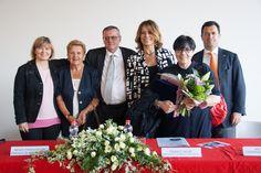 Da sx Isabella De Monte, Loredana Zilli, Renzo Francesconi, Elisabetta Gardini, Giovanna Calvenzi, Franco Iacop