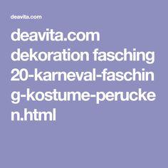 deavita.com dekoration fasching 20-karneval-fasching-kostume-perucken.html