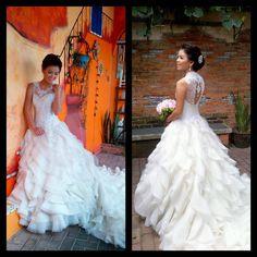 jazel sy gown.  renee jasalin make up.  dumaguete bride :)  www.jazelsy.com