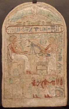 If you might notice many of the things being offered are things that make a person high, very high!  The lilly (or blue Egyptian lotus), the mound on the plate is white gold.