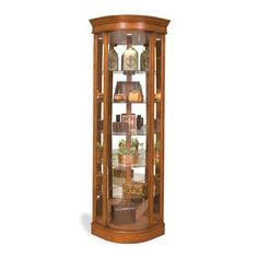 Fresh Corner Curio Cabinets with Glass Doors