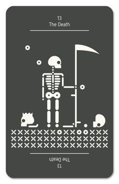 Tarot pictograma | Portfolio Oscar Royo aka Minimal Chicken