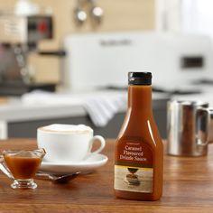 Eine+reichhaltige,+buttrige+Karamellsauce+für+Kaffeegetränke+oder+Nachspeisen.
