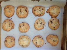 Bourbon & Sea Salt Chocolate Chip Cookies