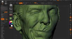 ZBrush Tutorial: Working With 3D Scan Data on Vimeo