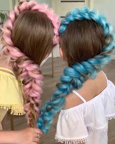 Easy & Trending Braids Hair Style Ideas # Braids with extensions hairstyles Cute Hairstyles by Square Face Hairstyles, Box Braids Hairstyles, Cute Hairstyles, Wedding Hairstyles, Hairstyle Ideas, Braid Styles, Short Hair Styles, Festival Braid, Coachella Hair