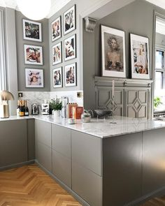 Kitchen Decor Ideas Decoration is unquestionably important for your home. Whether you choose the Decorating Kitchen Walls Ideas or Kitchen Decor Ideas Decoration, you will create the best Decor Top Of Kitchen Cabinets for your own life. Kitchen On A Budget, New Kitchen, Kitchen Dining, Kitchen Decor, Kitchen Walls, Decorating Kitchen, Kitchen Cabinets, Office Interior Design, Kitchen Interior