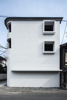 A Share-House in Nishinokyo - Shigenori Uoya
