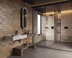Galeria łazienek - zdjęcia, gotowe projekty - Domni.pl Carrara, Bathroom Lighting, Mirror, Furniture, Home Decor, Bathroom Light Fittings, Bathroom Vanity Lighting, Decoration Home, Room Decor