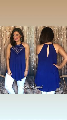 cc75a54654 Royal Blue Bliss Top from. Southern Revival Boutique