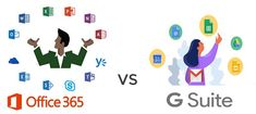 Office 365 vs G suite Comparison - Which is Best Office Suite, Office 365, Post Office, Google S, Business Emails, Microsoft Office, Highlight, Explore, Reading